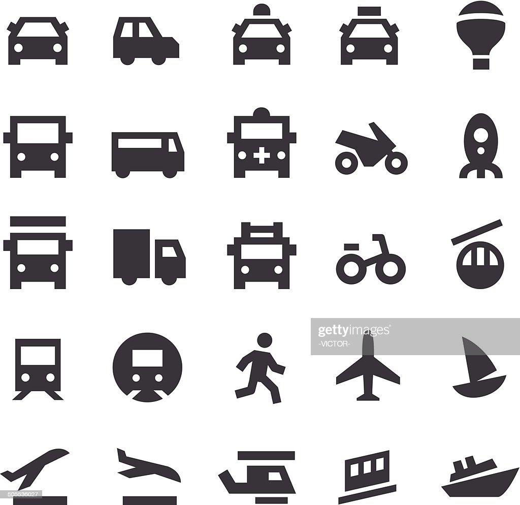 Transport Icons - Smart Series