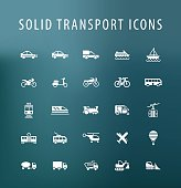 Transport Icons.