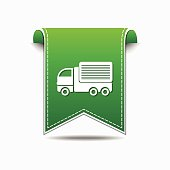 Transport Vehicle Green Vector Icon Design
