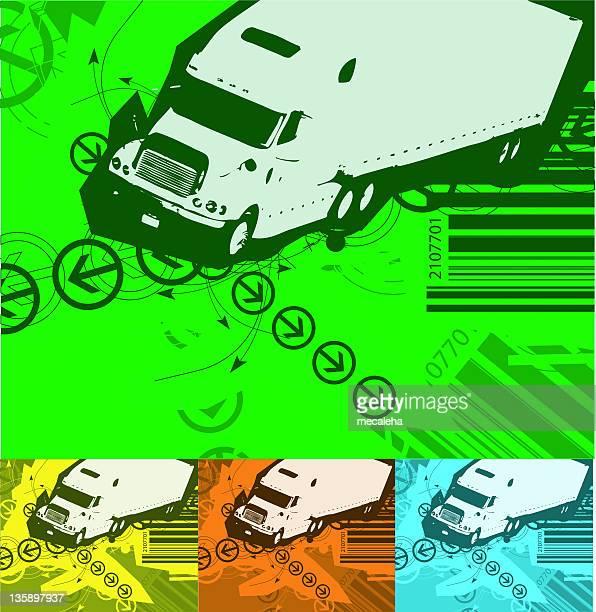 transportation background (vector)