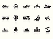 Transportation icons 2