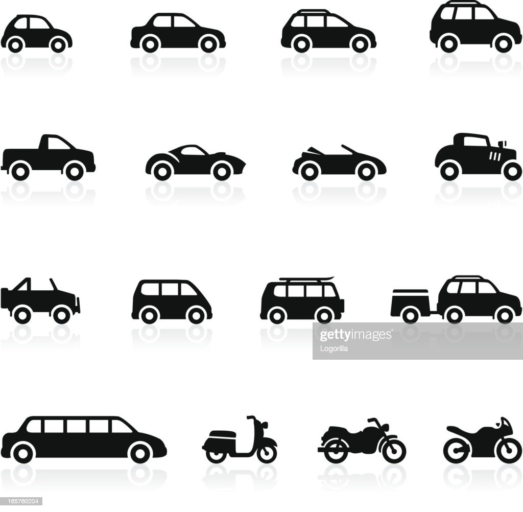 Transportation icons - Set 2 : stock illustration