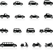 Transportation icons - Set 2