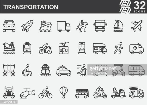 交通機関のアイコン - 潜水艦点のイラスト素材/クリップアート素材/マンガ素材/アイコン素材