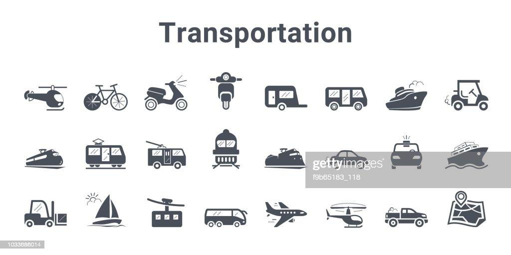 Transportation vector Icon