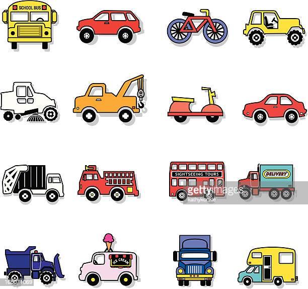 transportation - moped stock illustrations, clip art, cartoons, & icons
