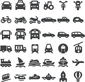 Transportation Vehicles Icons - Big Series