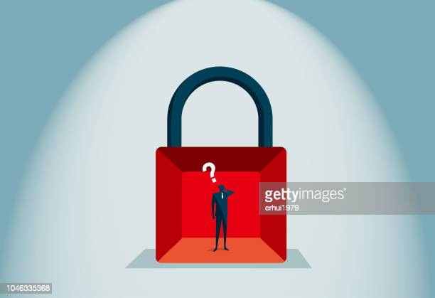 trapped - autism stock illustrations, clip art, cartoons, & icons