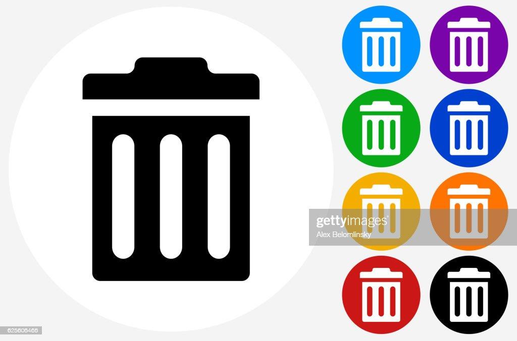 Vector Garbage Icon Trash Can Delete Stock 721263364 Shutterstock
