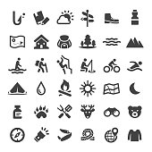 Travel and Adventure Icons - Big Series