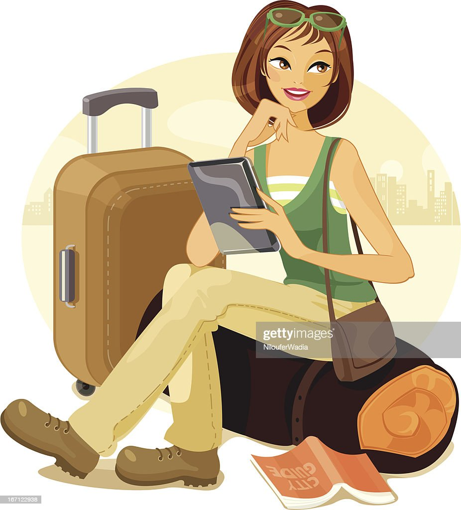 Travel and communicatons : stock illustration