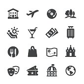 Travel and Leisure Icons - Acme Series
