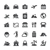 Travel and Vacation Icons - Smart Series