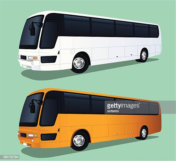 travel bus - bus stock illustrations