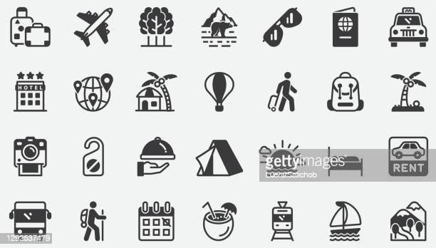 旅行コンセプトアイコン - 観光客点のイラスト素材/クリップアート素材/マンガ素材/アイコン素材