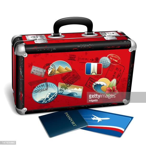 travel concept - travel tag stock illustrations, clip art, cartoons, & icons