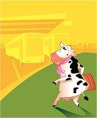 Vaca de viaje