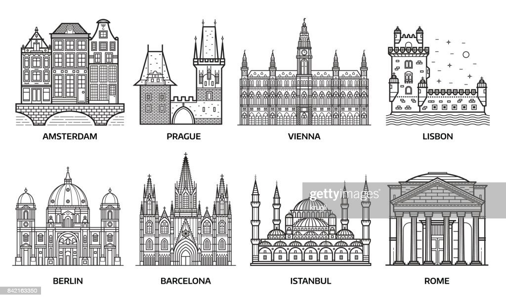 Travel Europe Monuments and Landmarks