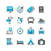 Travel Icon Set | Concise Series
