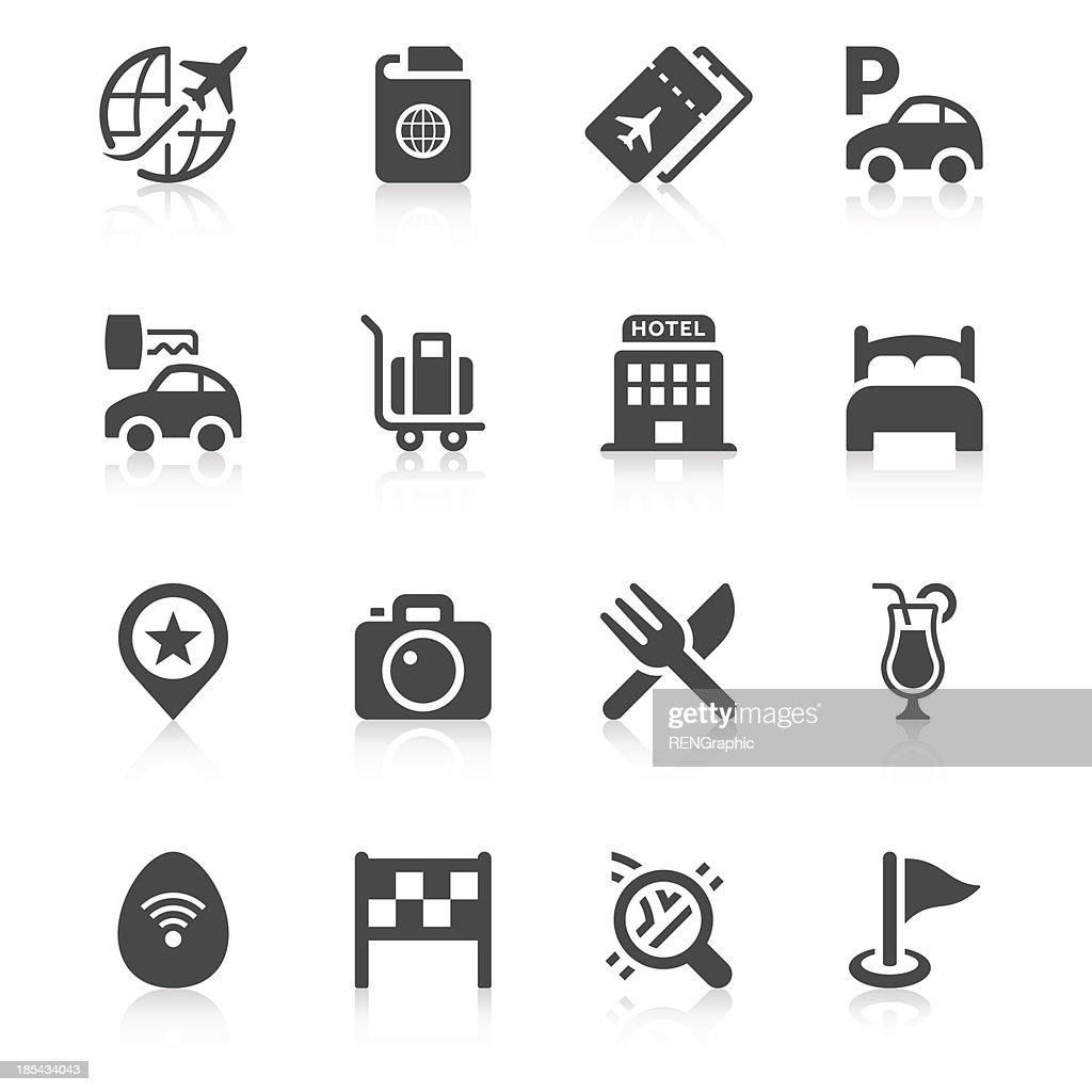 Travel Icon Set   Unique Series