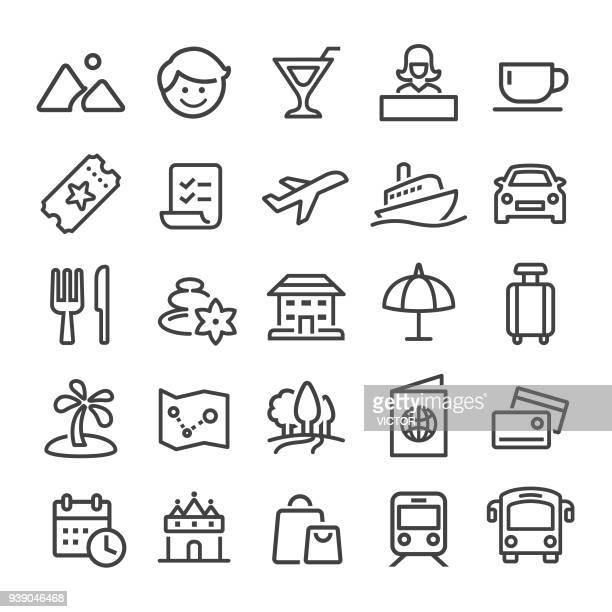 Reizen Icons - Slim Line serie