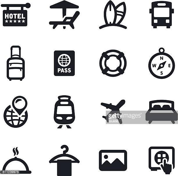 Reisen Symbole