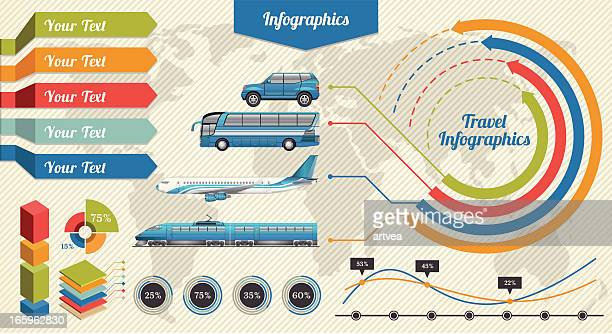 travel infographics - labeling stock illustrations, clip art, cartoons, & icons