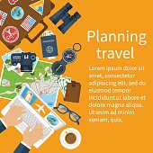 Travel planning. Vacation, trip, holiday concept.