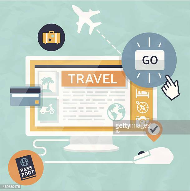 travel shopping - business travel stock illustrations, clip art, cartoons, & icons