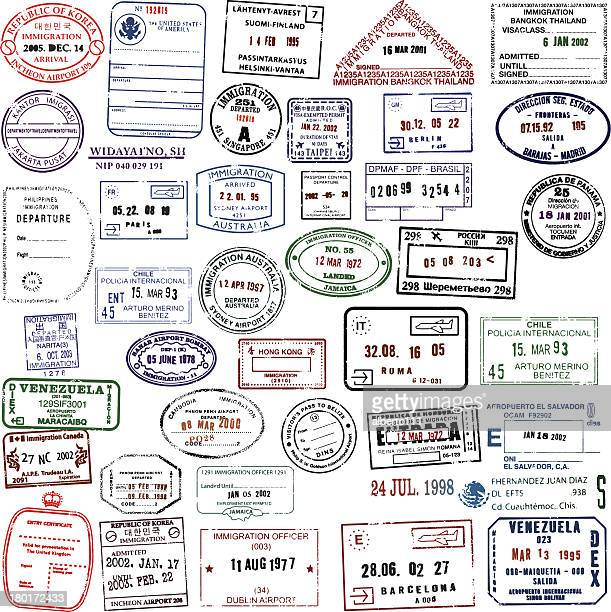 Travel Stamps Super Collection