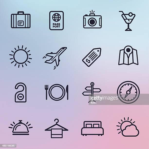 Travel & Tourism Line Icons