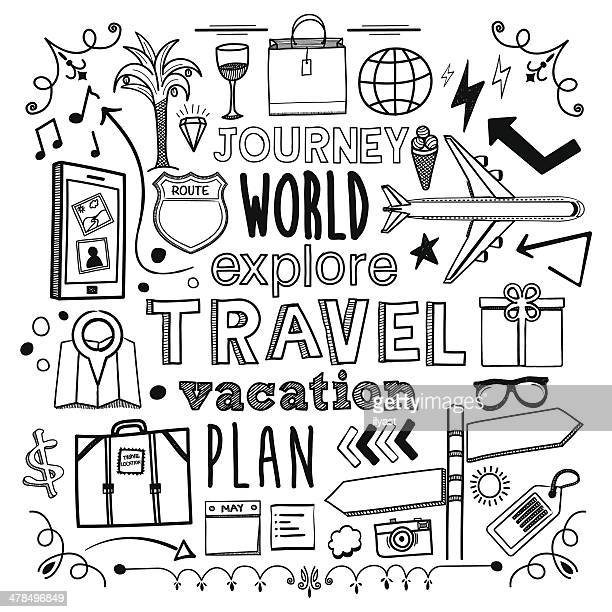 travel - travel tag stock illustrations, clip art, cartoons, & icons