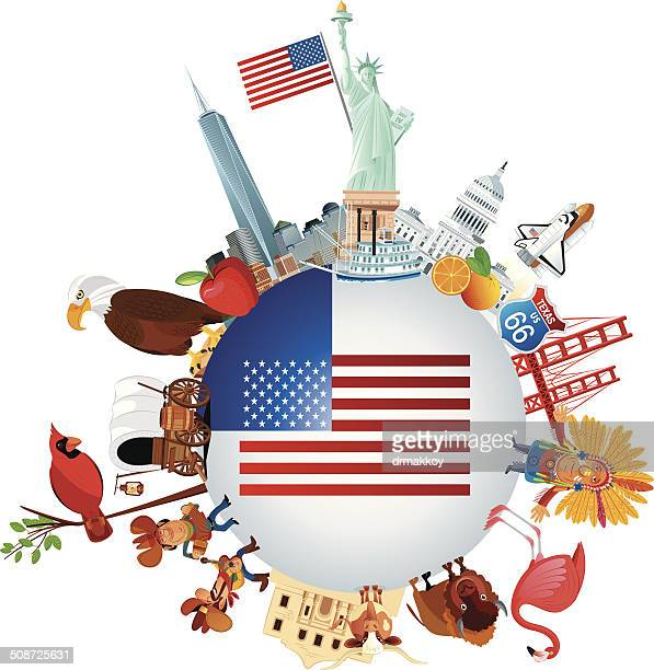 usa reisen - georgien stock-grafiken, -clipart, -cartoons und -symbole