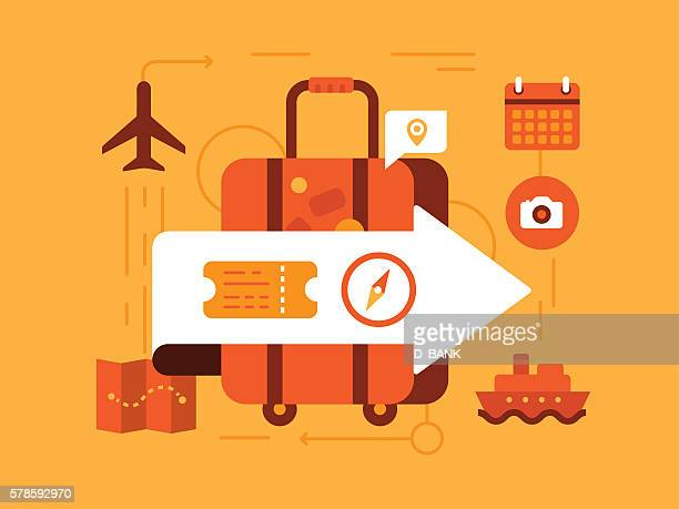 travel - business travel stock illustrations, clip art, cartoons, & icons