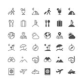 Traveling icons, included normal and enable state.