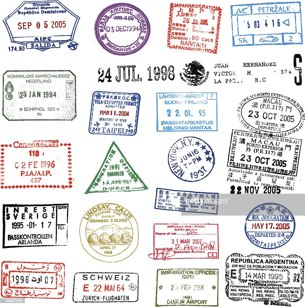 Traveling Stamps