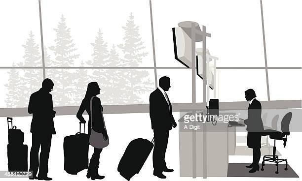 Travelling? Vector Silhouette