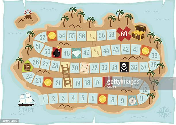 Treasure island - Board game