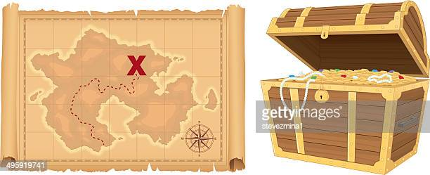 Mapa do Tesouro e Tesouro
