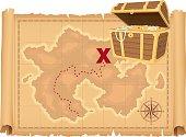 Treasure Map and Treasure