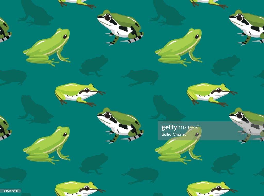 Tree Frog Set Wallpaper