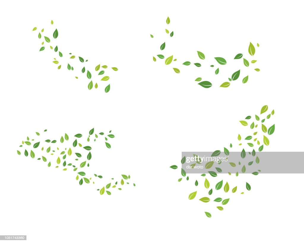 Tree leaf vector logo design