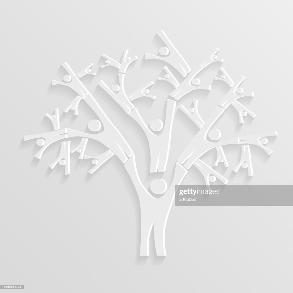 Tree of people