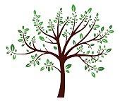 Tree summer sign