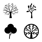 Tree Symbols Icon Bundle