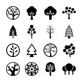 Tree Symbols Icon Collection