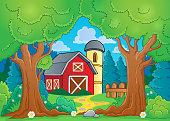 Tree theme with farm 3