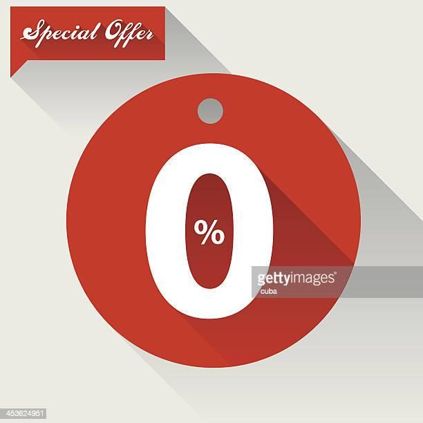 Trend flat sale badge