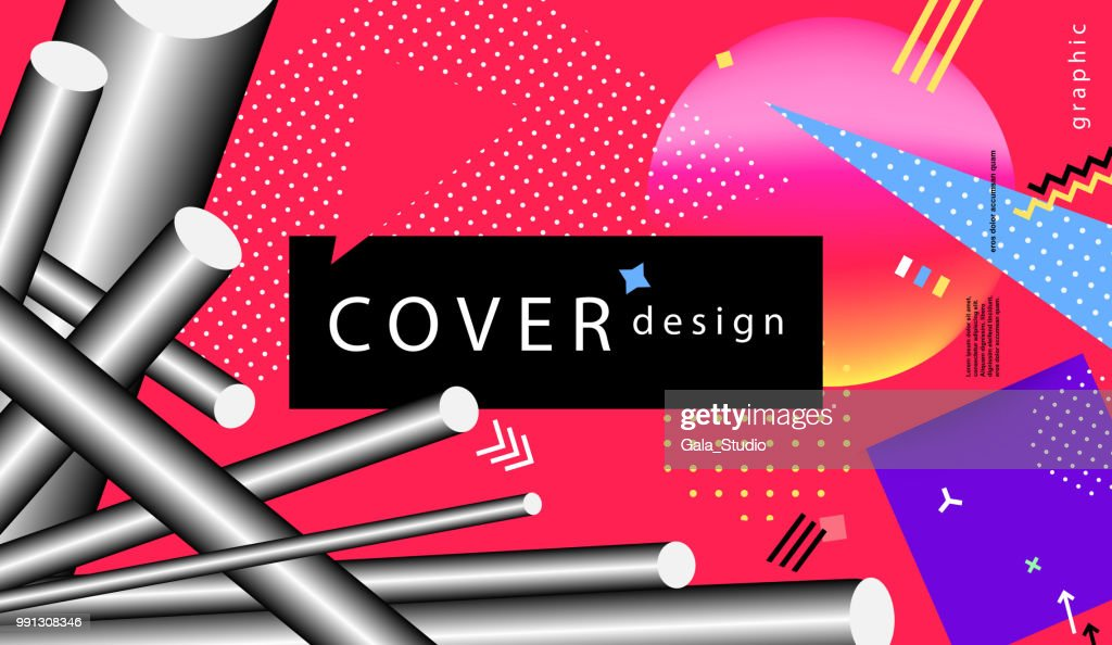 Trendy covers or backgrounds for placard, poster, magazine, brochure, flyer or banner design.