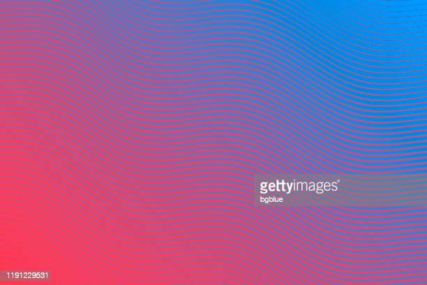 trendy geometric design - blue abstract background - pink and blue background stock illustrations